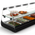 Refrigerated tapas display cases