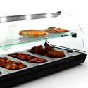 Hot tapas display cases
