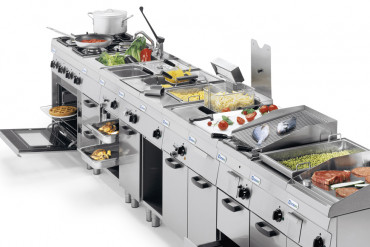 HOW TO CHOOSE THE COOKING LINE FOR AN INDUSTRIAL KITCHEN